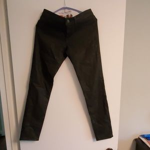 Jbrand brown skinny leg pants
